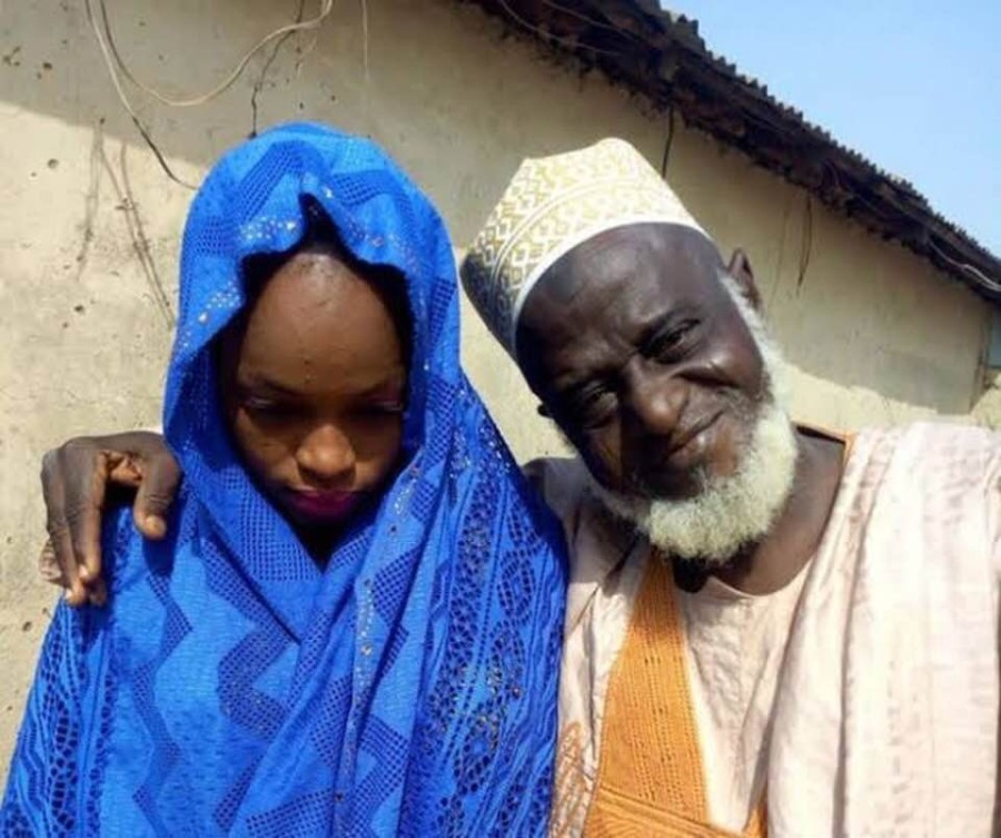 Child Bride and husband